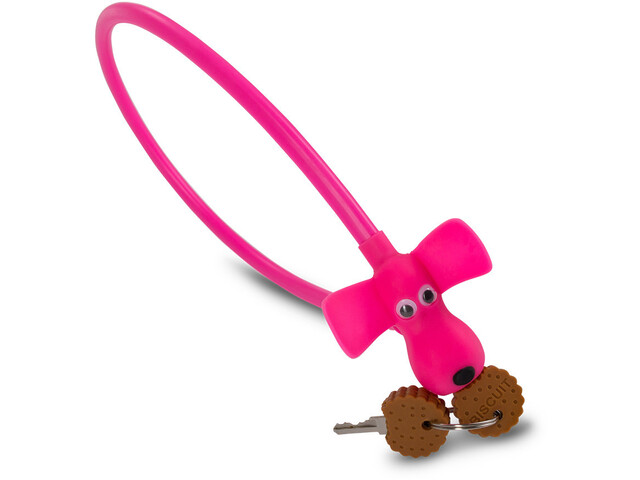 Cube RFR HPS Cable Lock Dog Kids, pink